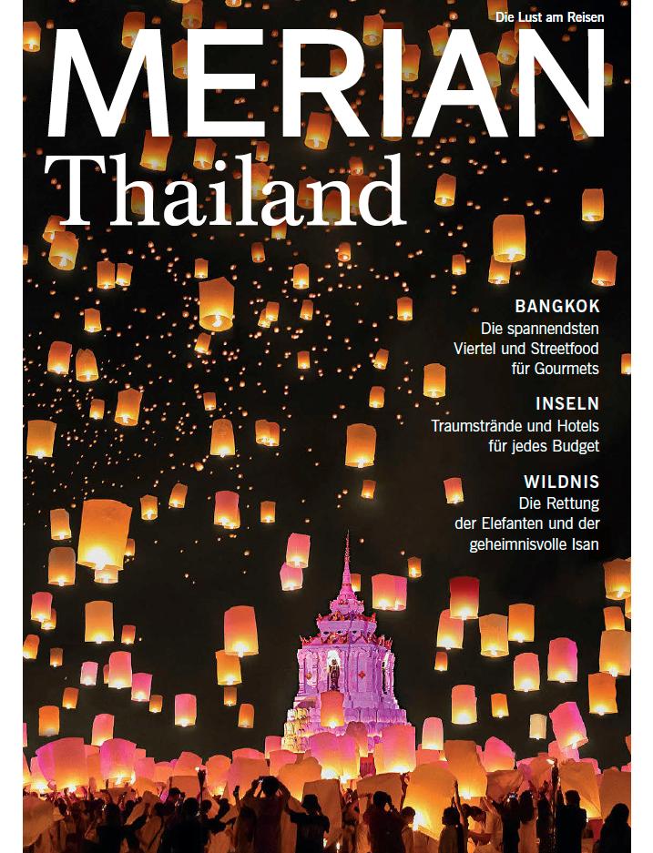 Elefanten in Thailand: Dieser Artikel stammt aus MERIAN Heft Nr. 04/2019
