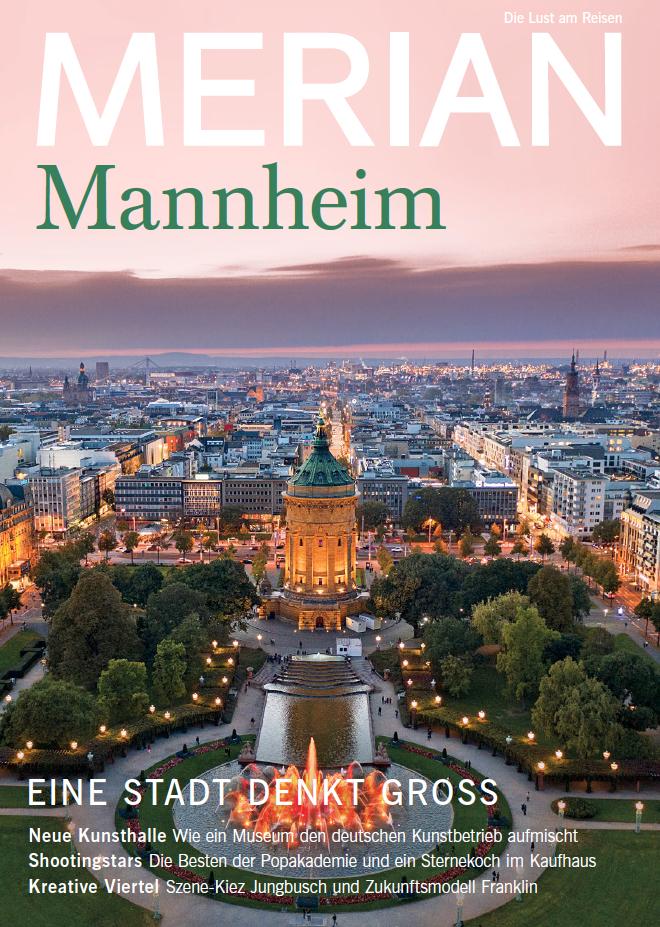 Wohnraum in Mannheim: Dieser Artikel stammt aus MERIAN-Heft Nr. 12/2018