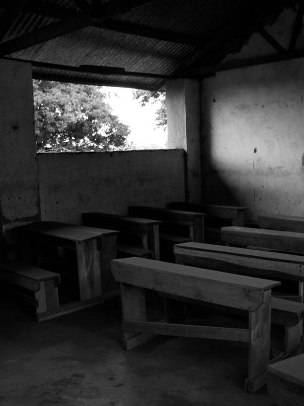Verlassene Räume im Aufnahmezentrum der Hilfsorganisation Gusco in Uganda