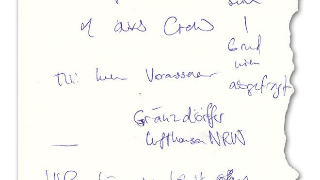 Handschrift: Die Schmierzettel einer Onlineredaktion  ZEIT ONLINE
