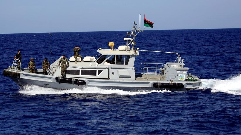 Image result for libyan coastguard
