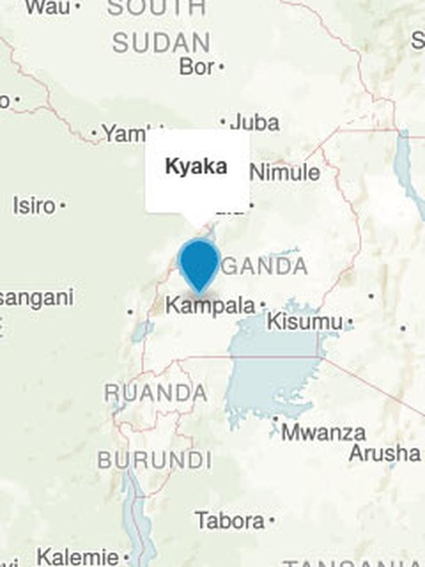 Karte Kyaka