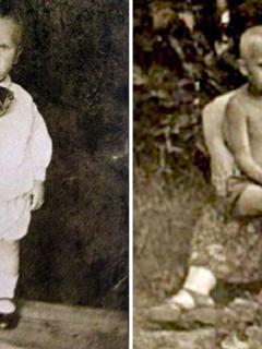 laut biografie sitzt putin rechts auf dem scho seiner mutter der junge links soll sein verstorbener bruder sein steffen dobbert - Putin Lebenslauf