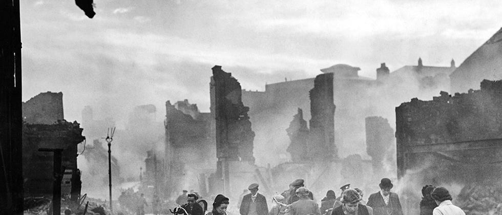 Die Earl Street in Coventry, November 1940