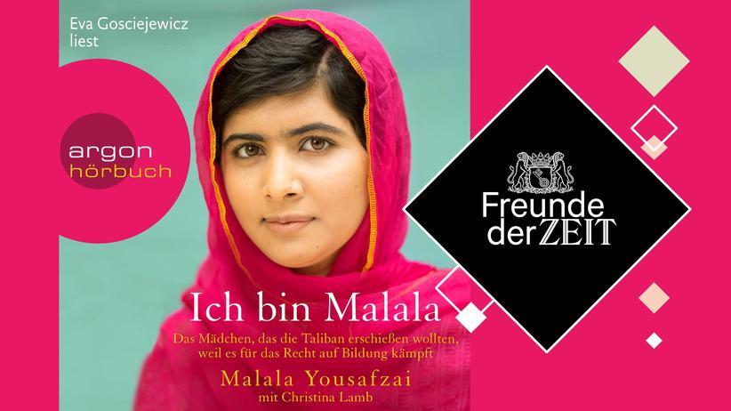 Freunde der ZEIT: Kostenloses Hörbuch für ZEIT-Abonnenten: »Ich bin Malala«