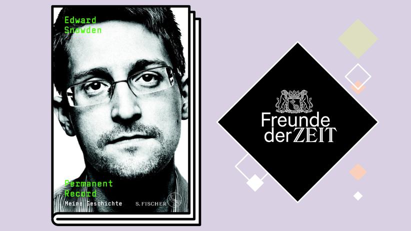 Freunde der ZEIT: Nur für Abonnenten: Gewinnen Sie das Buch von Edward Snowden