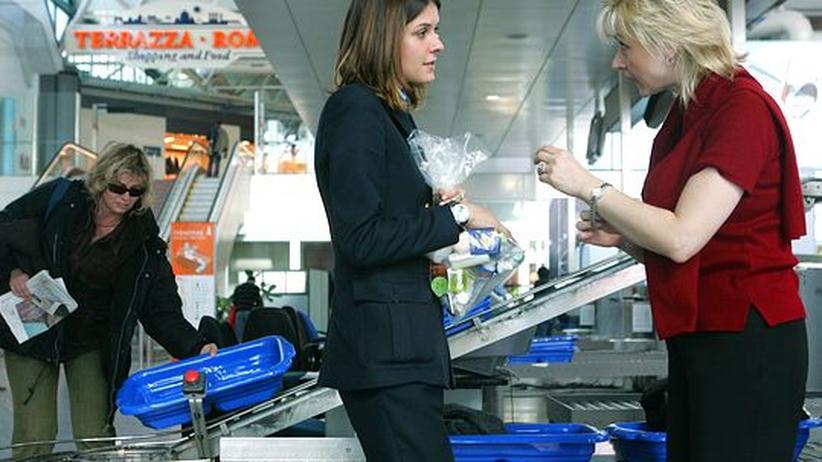 EU-Richtlinie: Flüssigkeiten im Handgepäck ab 2013 wieder erlaubt