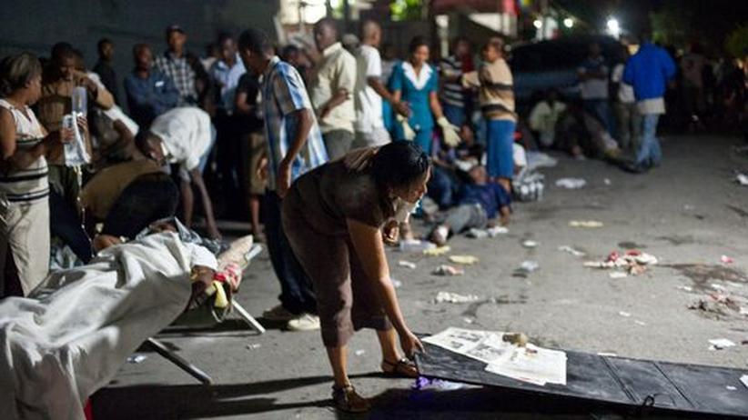 """Haiti: """"Das Beben trifft ein elendes Land"""""""