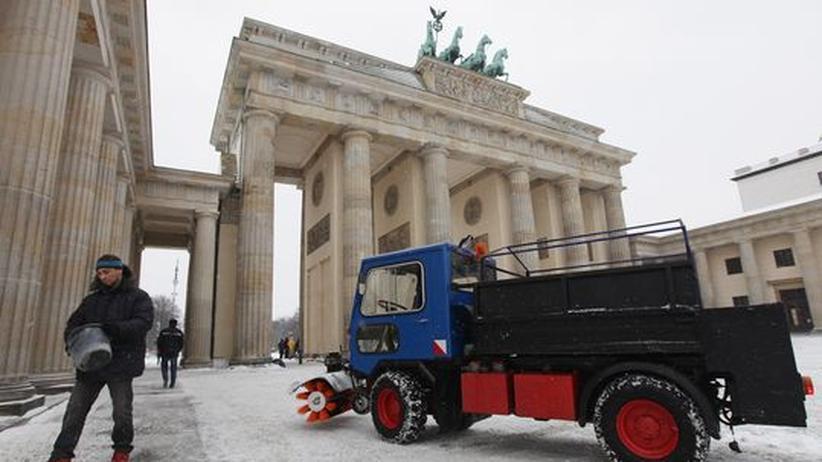 """Sturmtief '""""Daisy"""": Deutschland unter Schnee"""