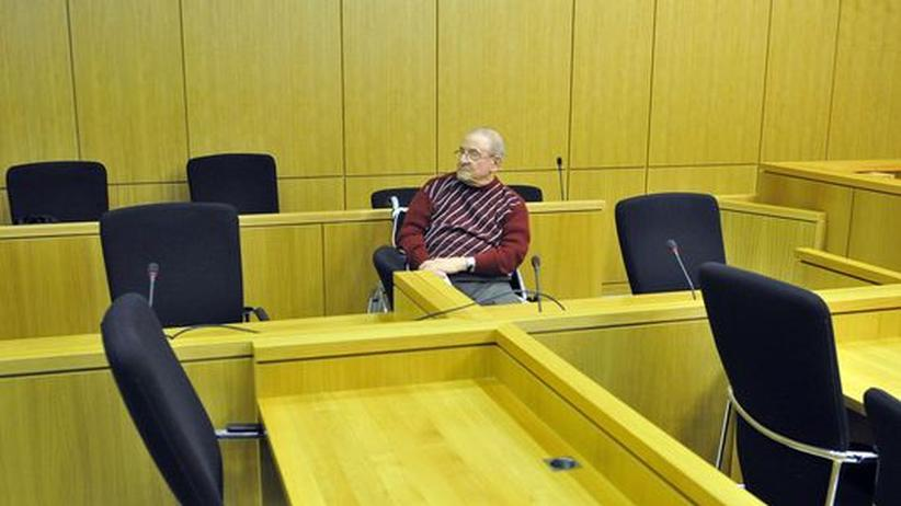 Heinrich Boere im Gerichtssaal