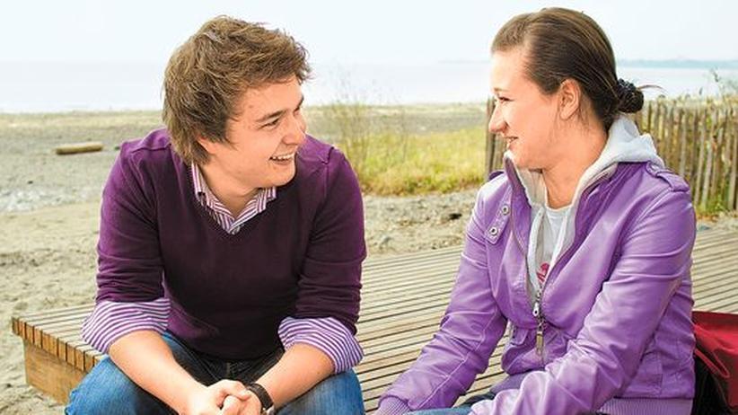 Sozialprojekt: Brücken schlagen – Tim Ebert unterstützt Olga Larin bei ihren Zukunftsplänen