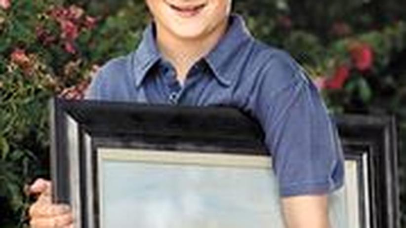 Malendes Wunderkind: Der achtjährige Kieron Williamson wird von manchen als Großbritanniens momentan spannendster Künstler bezeichnet
