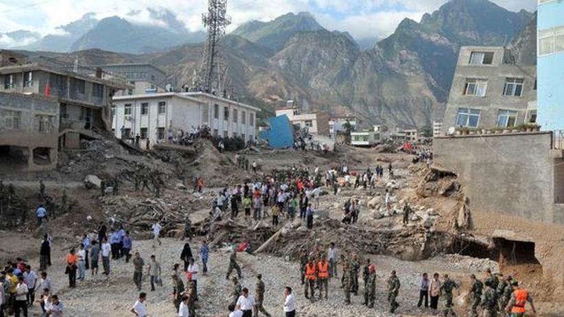Naturkatastrophe: Mehr als 100 Tote nach Erdrutschen in China