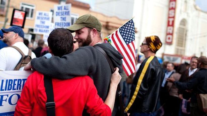 Homo-Ehe: Sieg für Homosexuelle in Kalifornien