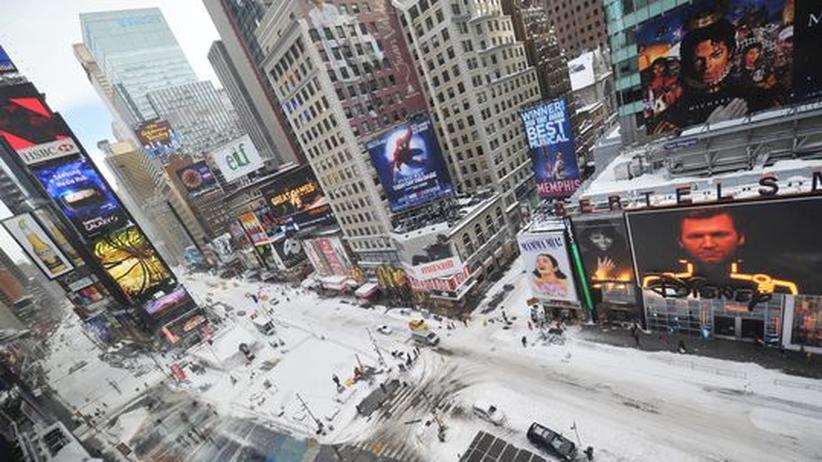 USA: New York versinkt im Schnee