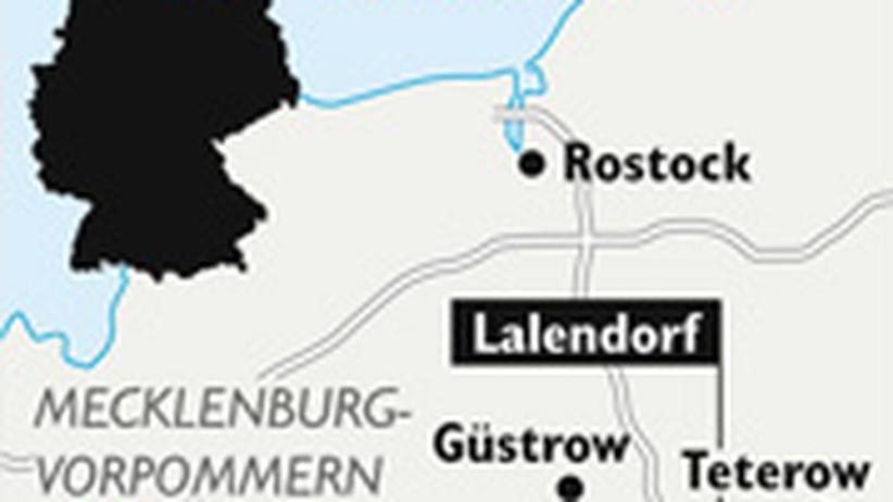 Karte Lalendorf