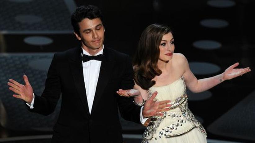 Oscar-Verleihung 2011: Die Schauspieler James Franco und Anne Hathaway moderierten die 83. Verleihung der Oscars