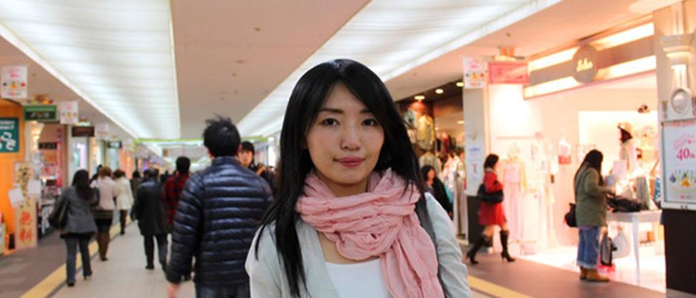 Sonoko Higaya hat das Erdbeben in Japan miterlebt.