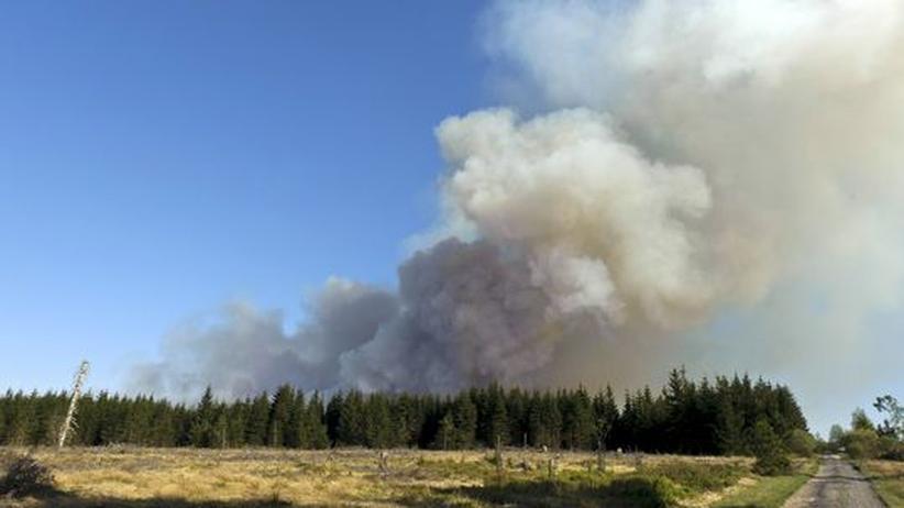 Hochmoor: Großfeuer im Naturschutzgebiet Hohes Venn
