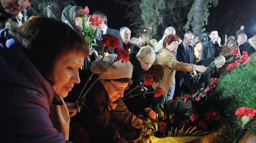 Tschernobyl-Gedenken: Mit einem Totenkopf auf Reaktor 4