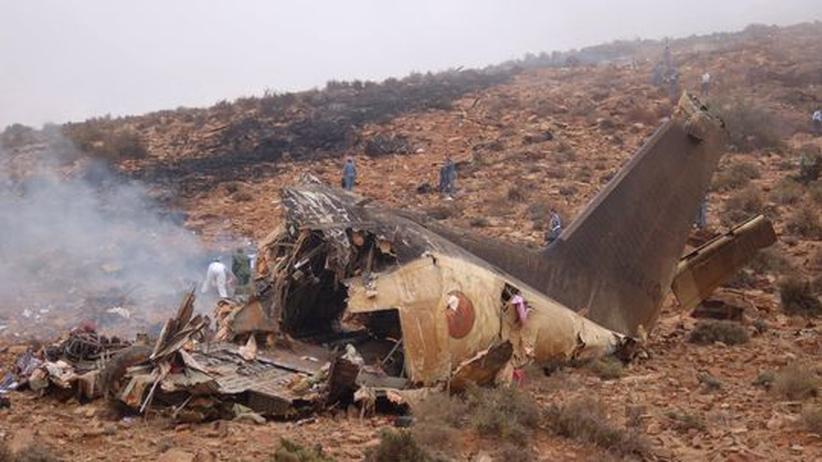 Unglück: Dutzende Tote bei Flugzeugabsturz in Marokko