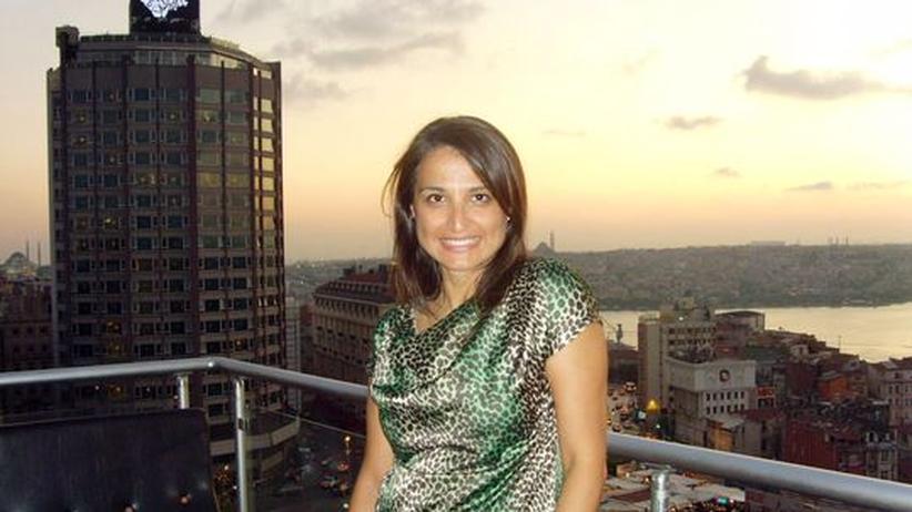 Emine Sahin in Istanbul