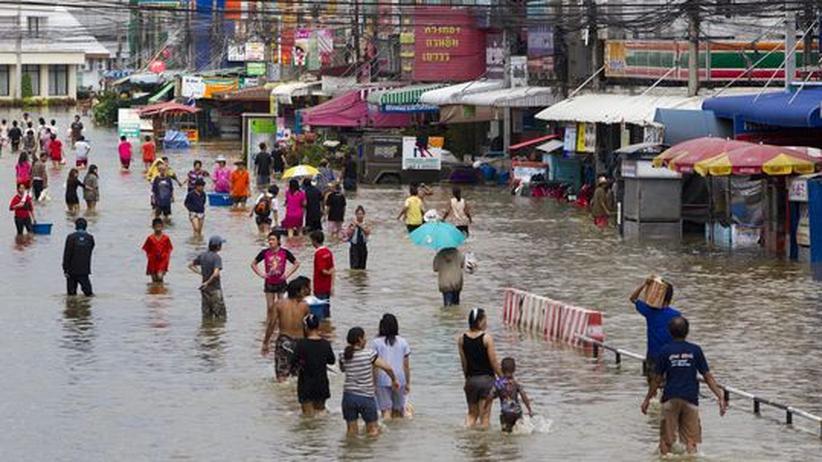 Unwetter in Südost-Asien: Bangkok rüstet sich gegen Überschwemmungen