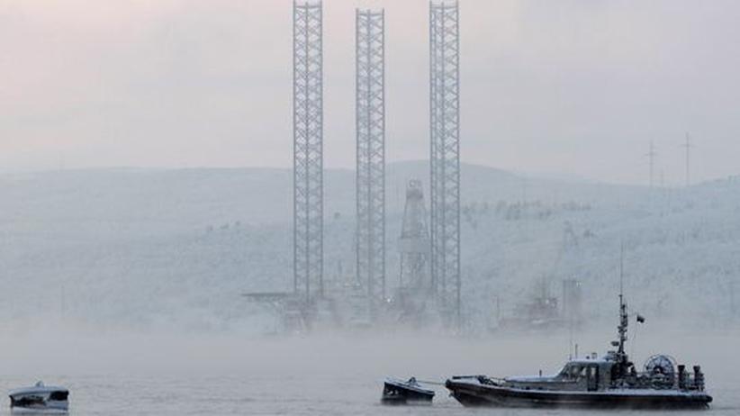 Nordpazifik: Russische Bohrinsel mit 67 Arbeitern gesunken