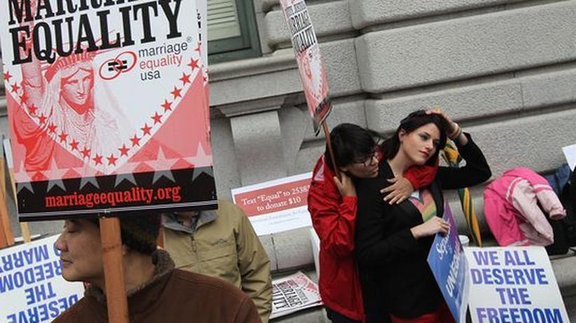 Rechtsstreit: US-Richter erlauben Homo-Ehe in Kalifornien