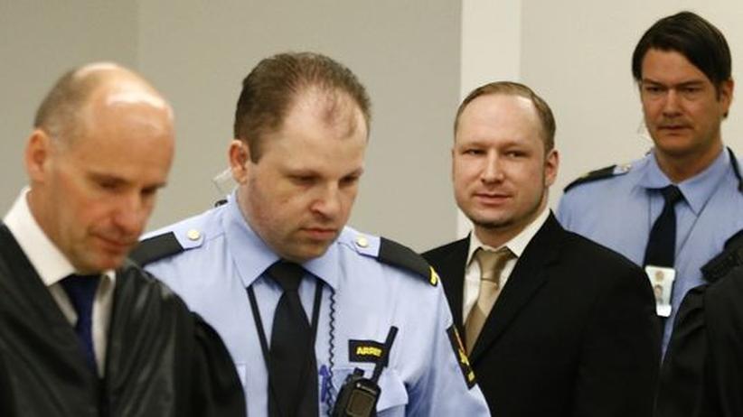 Norwegen: Attentäter Breivik plädiert auf nicht schuldig