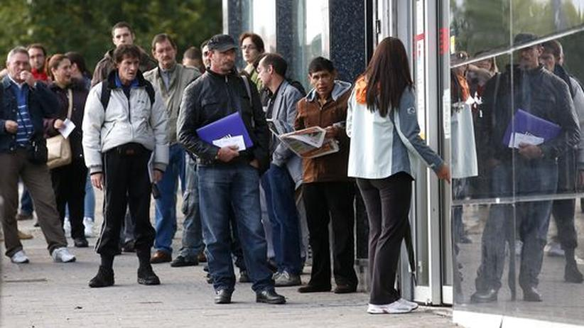 Euro-Krise: In Spanien sucht jeder vierte einen Job