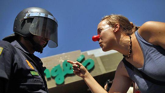 Streiten ist erlaubt - auch laut und heftig