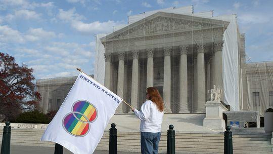 Das Gebäude des Supreme Courts in Washington