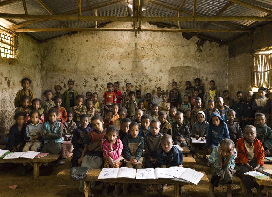 Äthiopien: Musikunterricht in einer Grundschule in Gambela