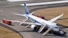 Eine Boeing 787 Dreamliner der japanischen Fluggesellschaft All Nippon Airways (ANA)