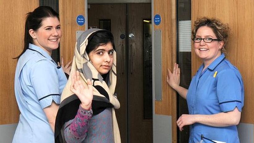 Kinderrechtsaktivistin: Pakistanisches Mädchen Malala fast wieder gesund