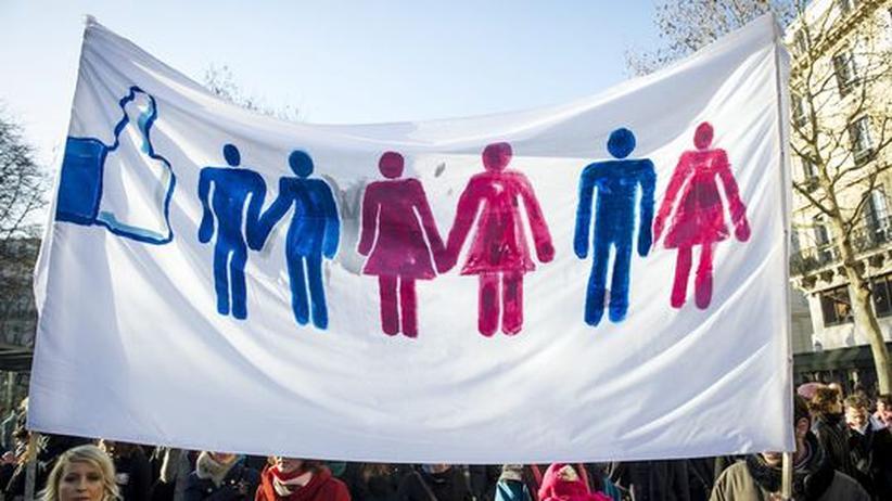 Homosexuelle Glechstellung Frankreich Europa