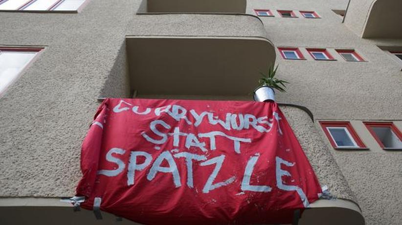 Gentrifizierung Berlin Protest