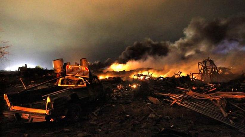 Texas: Behörden bestätigen bis zu 15 Tote bei Fabrik-Explosion