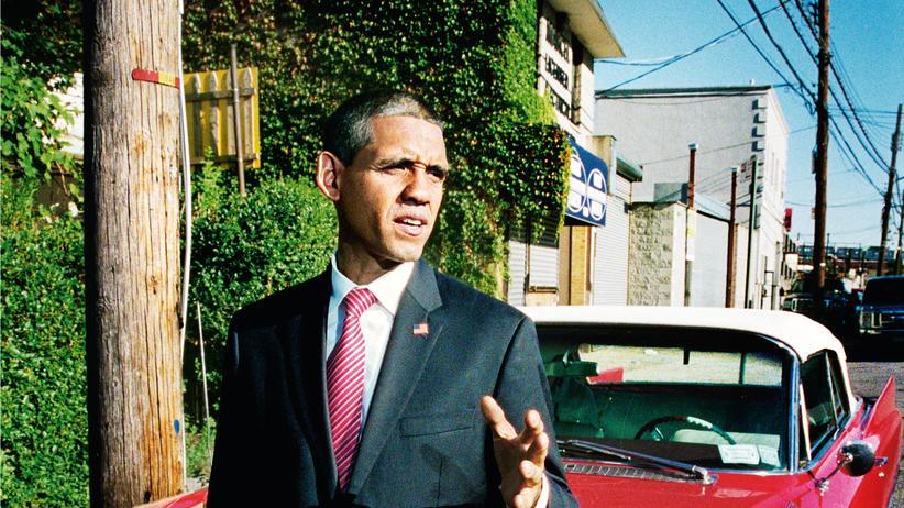 Obama-Doppelgänger: Louis Ortiz