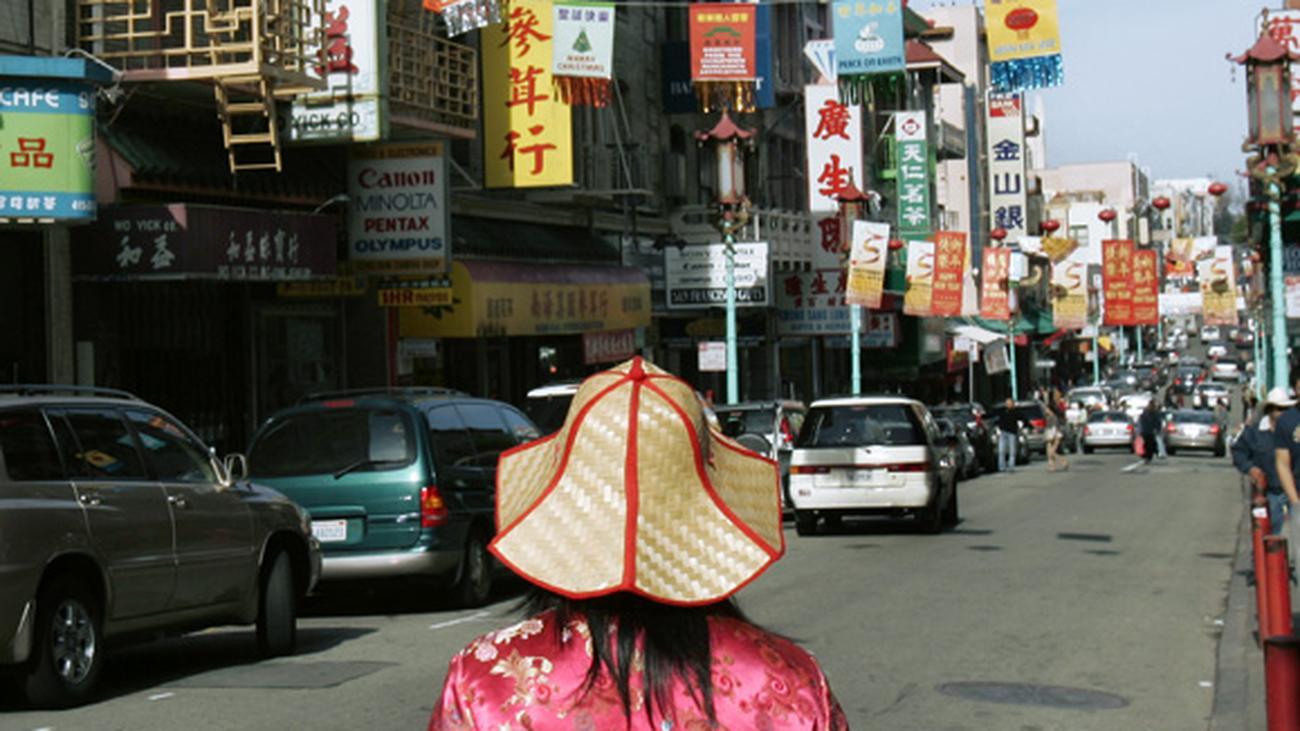san francisco asiatischen bevölkerung