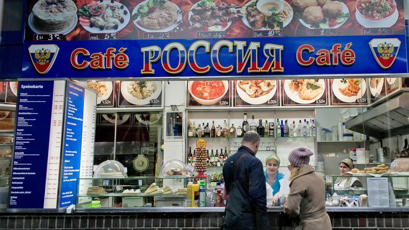 Ukraine-Krise: Sie lieben Berlin und schwärmen von Russland