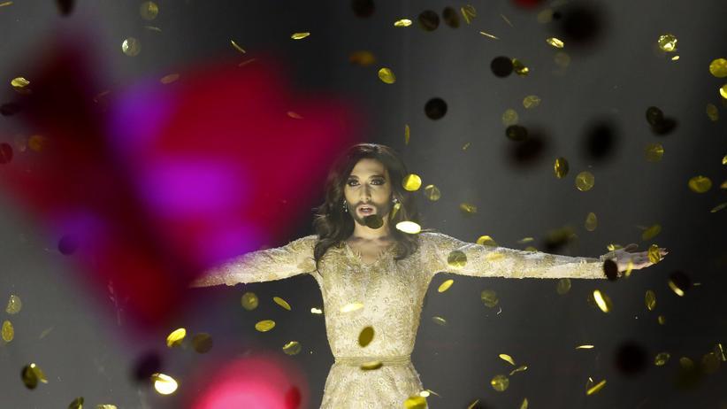 Conchita Wurst gewinnt den Eurovision Song Contest in Kopenhagen