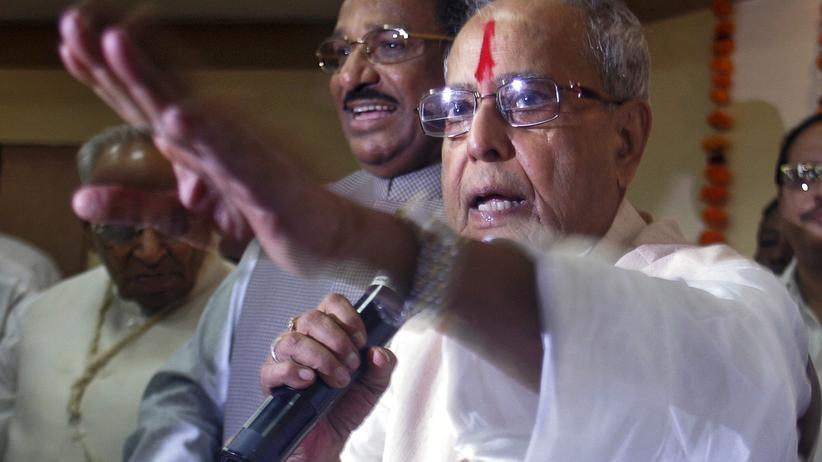 Sexuelle Gewalt: Indiens Präsident Pranab Mukherjee
