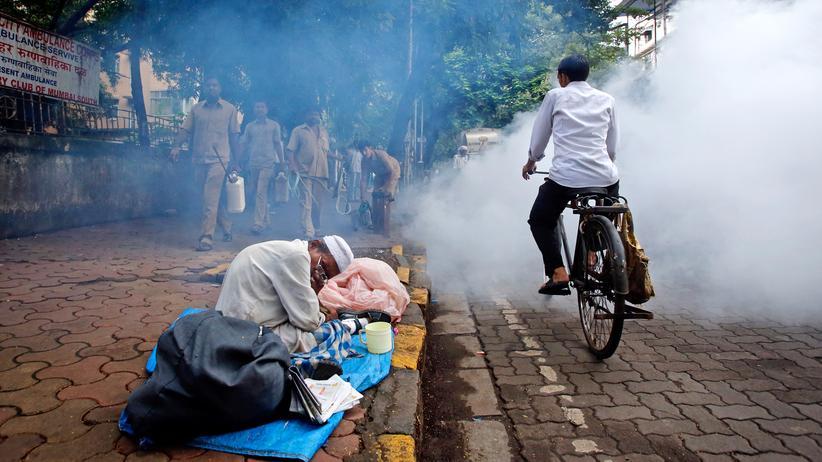 Indien: Ein Bettler in Indien