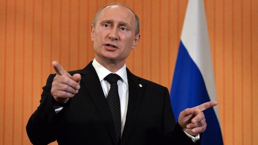 Russland: Putin spricht