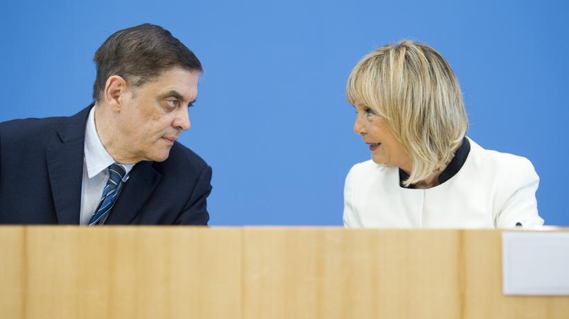 Antiziganismus: Romani Rose, Vorsitzender des Zentralrates Deutscher Roma und Sinti und Christine Lüders, Antidiskriminierungsbeauftragte des Bundes