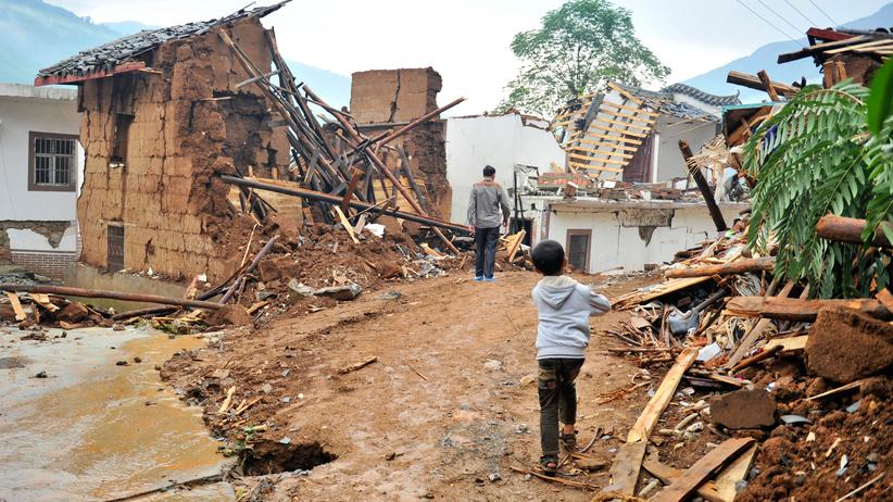 Erdbeben China Yunnan
