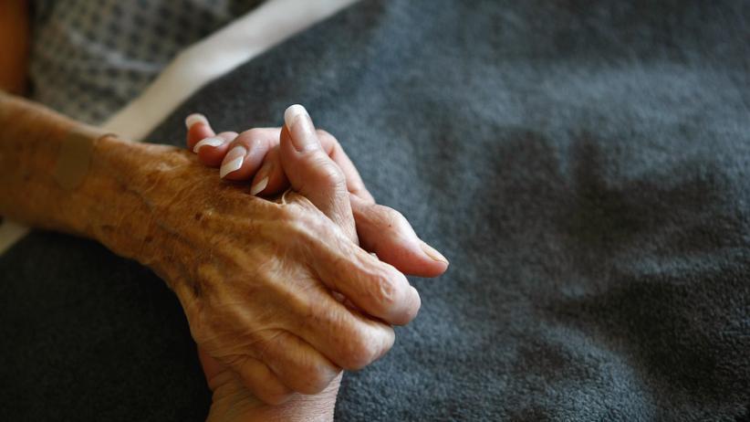 Medizinethik: Ein Todkranker in einem Hospiz in Oregon, USA