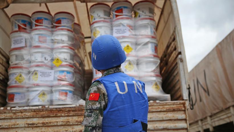 Vereinte Nationen: Hilfsgüter der Vereinten Nationen für Ebola-Gebiete